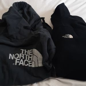 The northface hoodies jacket men size L